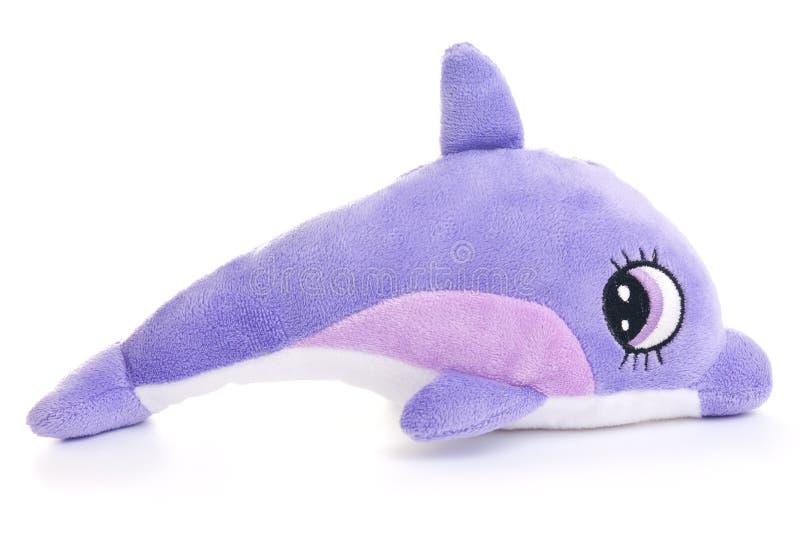 Het stuk speelgoed van de dolfijn stock foto