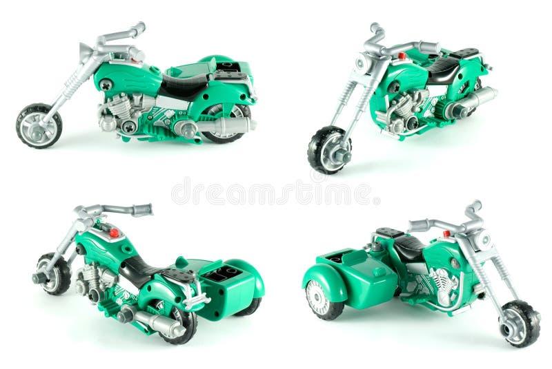 Het stuk speelgoed van de motorfiets royalty-vrije stock afbeelding