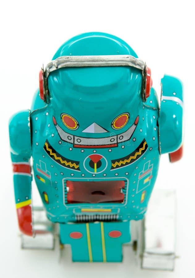 Het stuk speelgoed van de robot royalty-vrije stock fotografie