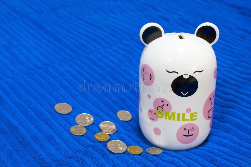 Het Stuk speelgoed van de Spaarder van het geld royalty-vrije stock foto