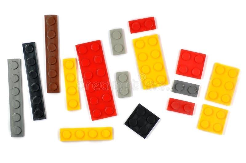Het stuk speelgoed van het blok royalty-vrije stock afbeeldingen