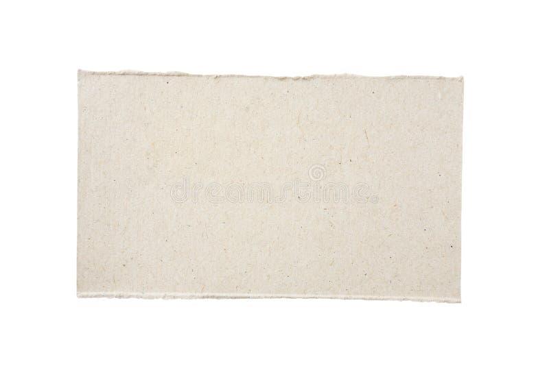 Het Stuk van het karton royalty-vrije stock afbeeldingen