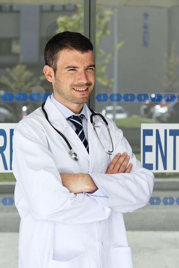 Het succes van de arts stock foto