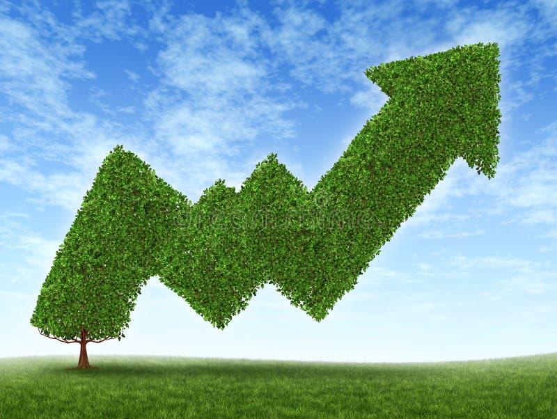 Het Succes van de Effectenbeurs stock illustratie