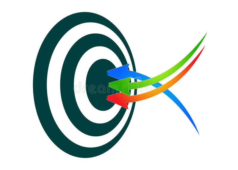 Het succes van de marketing vector illustratie