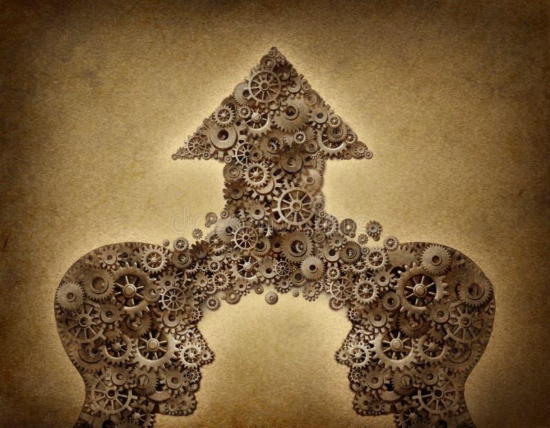 Het Succes van de Samenwerking van bedrijven royalty-vrije illustratie