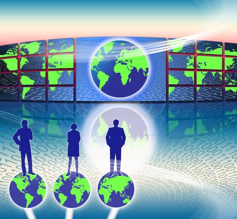 Het Succes van de Wereld van de marketing vector illustratie