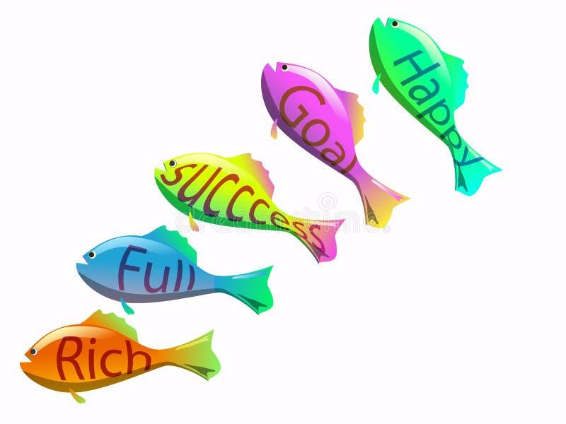 Download Het succes zwemt stock illustratie. Illustratie bestaande uit marketing - 29501593