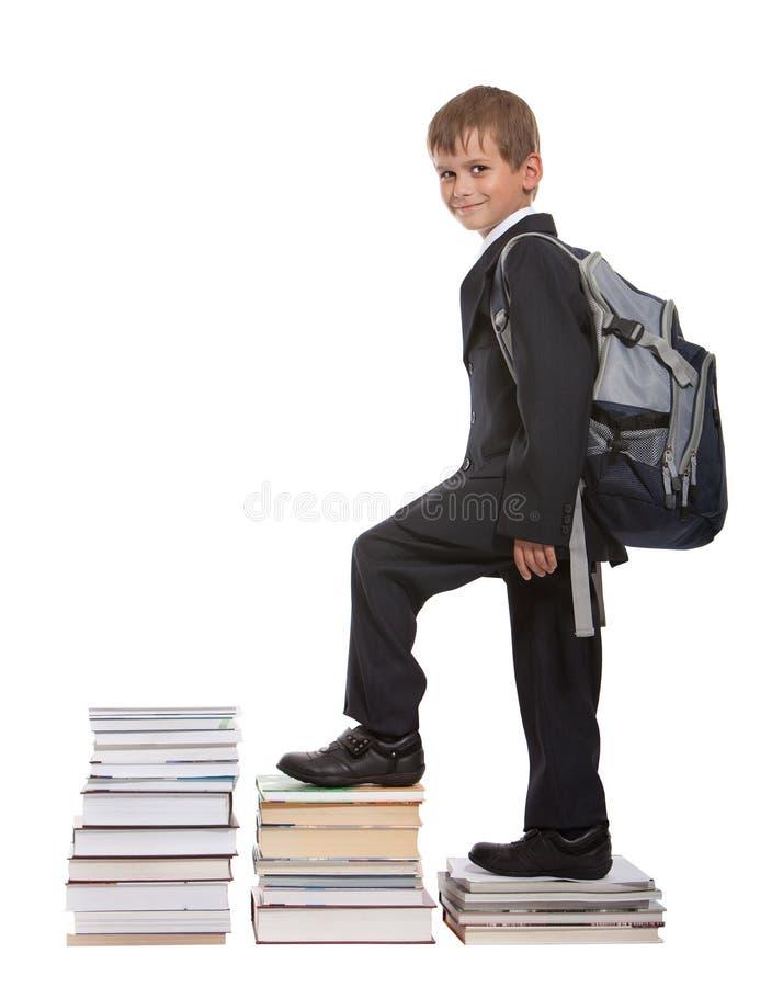 Het succesgrafiek van het onderwijs stock afbeelding