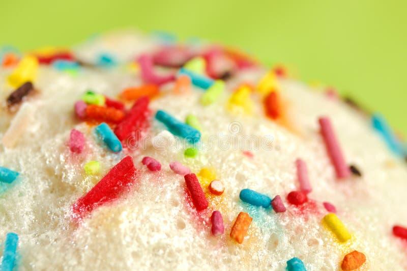 Het Suikerglazuur van de Cake van Pasen royalty-vrije stock fotografie