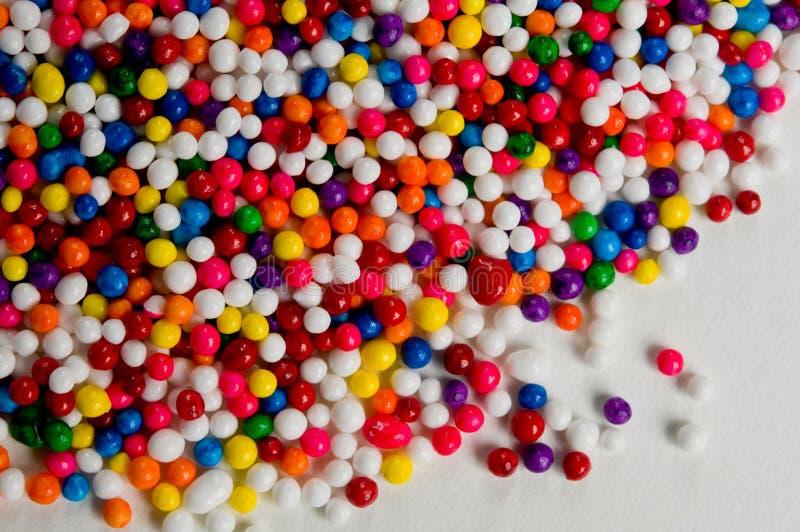 Het suikergoed bestrooit stock afbeeldingen