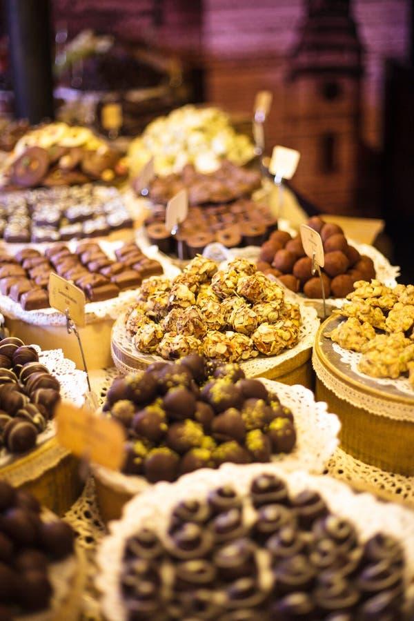 Het suikergoed van de chocolade royalty-vrije stock foto