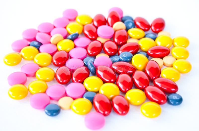 Het suikergoed van de drug stock afbeeldingen