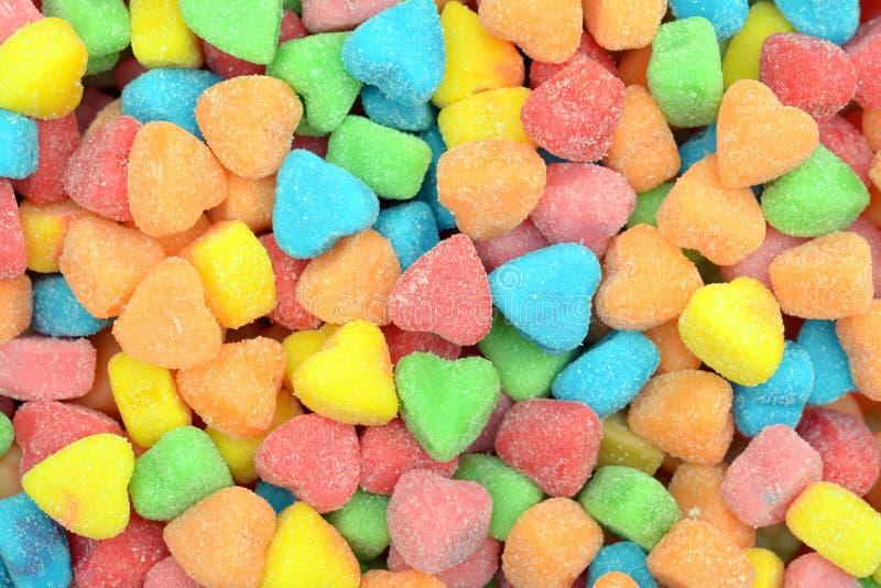 Het suikergoed van de hartvorm royalty-vrije stock afbeelding
