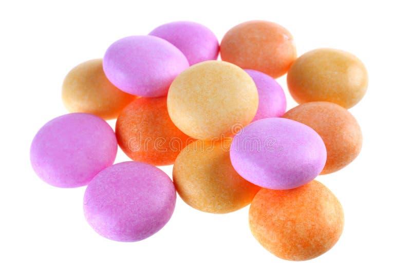 Het suikergoed van de kleur royalty-vrije stock afbeelding