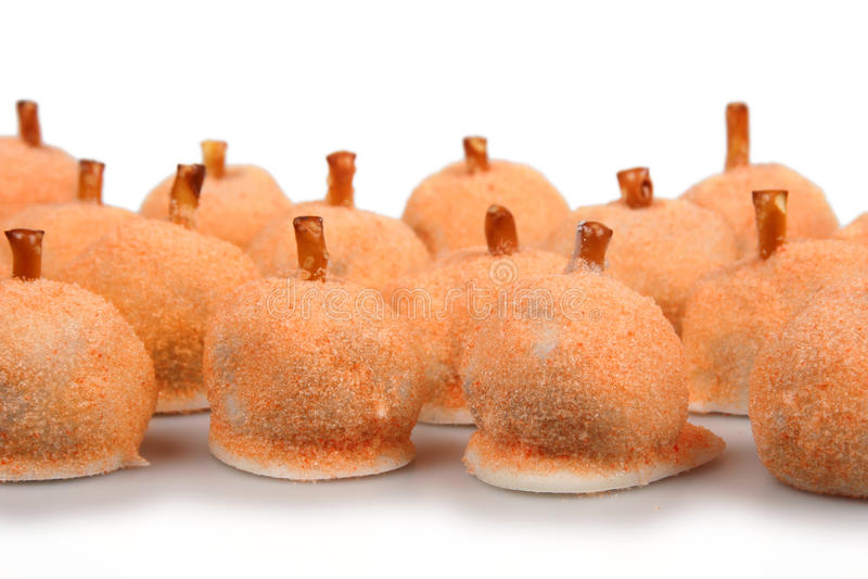 Het Suikergoed van de pompoenvakantie stock fotografie