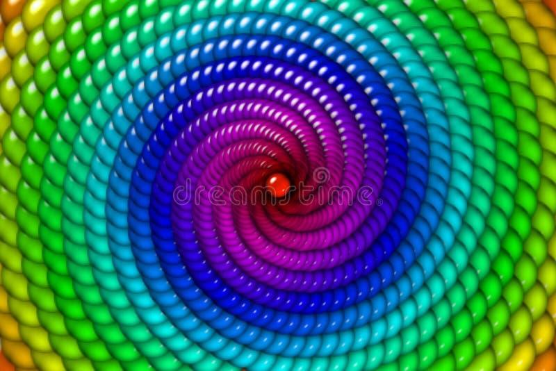 Het Suikergoed van de regenboog royalty-vrije illustratie