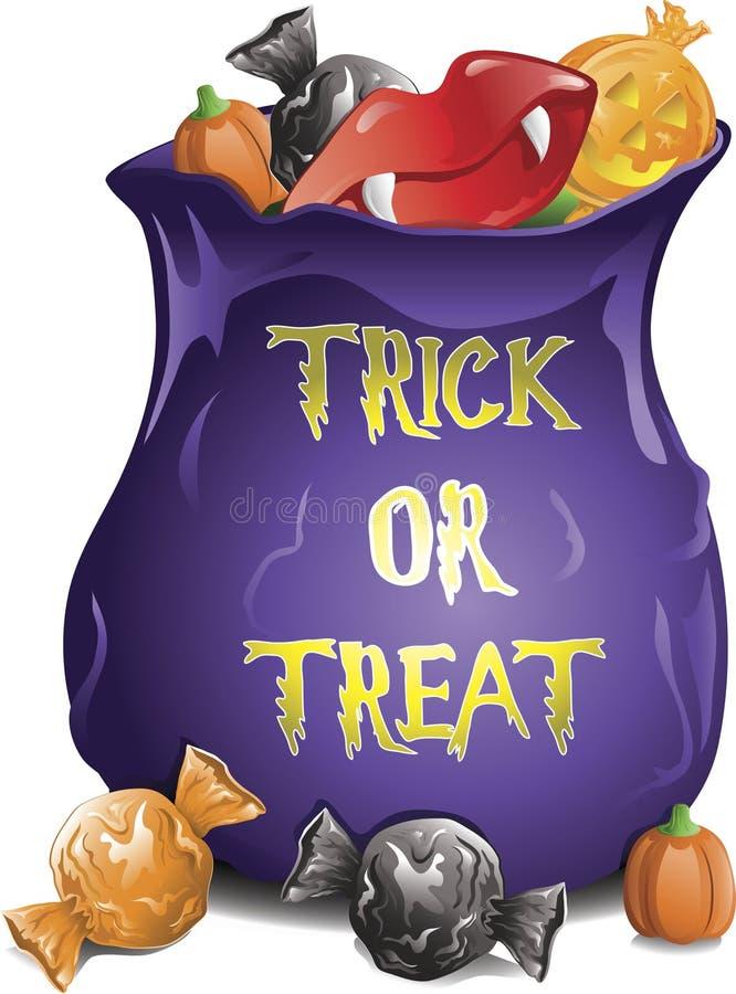 Het Suikergoed van Halloween royalty-vrije illustratie