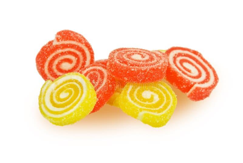 Het suikergoed van het fruit stock afbeeldingen