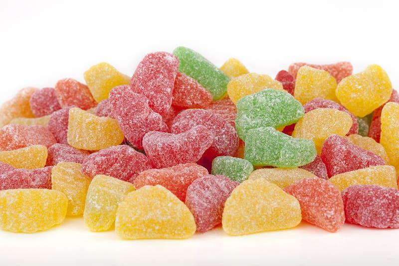 Het suikergoed van het geleifruit stock afbeelding