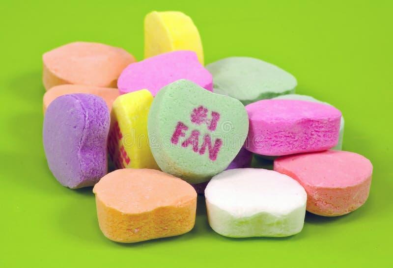 Het Suikergoed van het hart royalty-vrije stock afbeeldingen