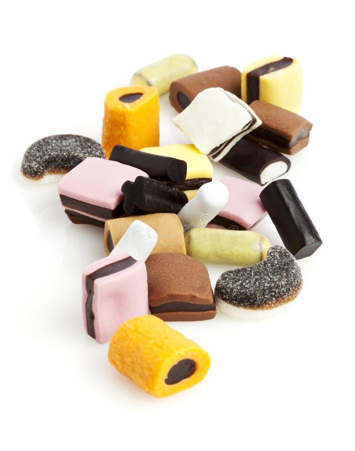 Het Suikergoed van het zoethout royalty-vrije stock afbeeldingen