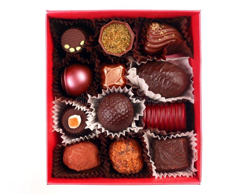 Het suikergoedgroep van de chocolade royalty-vrije stock afbeelding