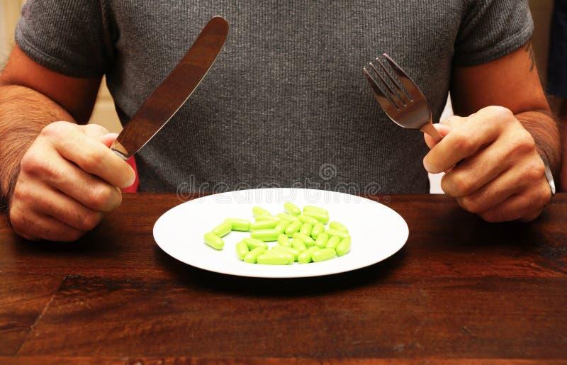 Het supplement van het voedsel stock foto