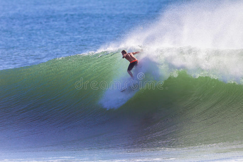 Het surfen de Start berijdt Golf stock afbeelding