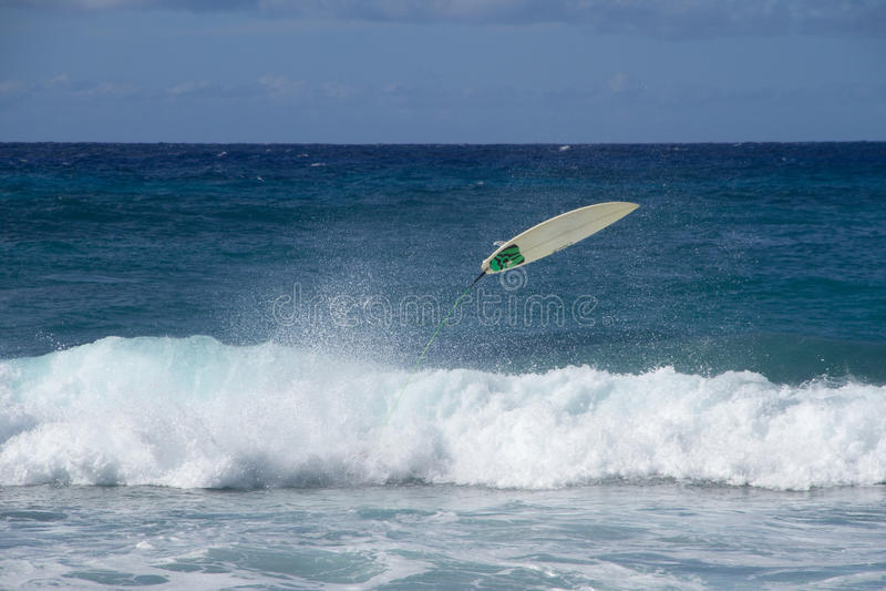 Het surfen doet teniet stock foto