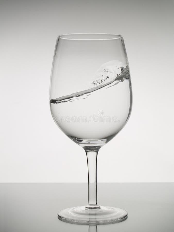 Het surfen in een glas royalty-vrije stock foto