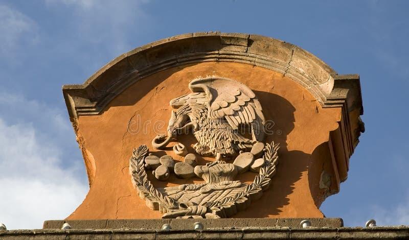Het Symbool Mexico van de steen royalty-vrije stock foto's