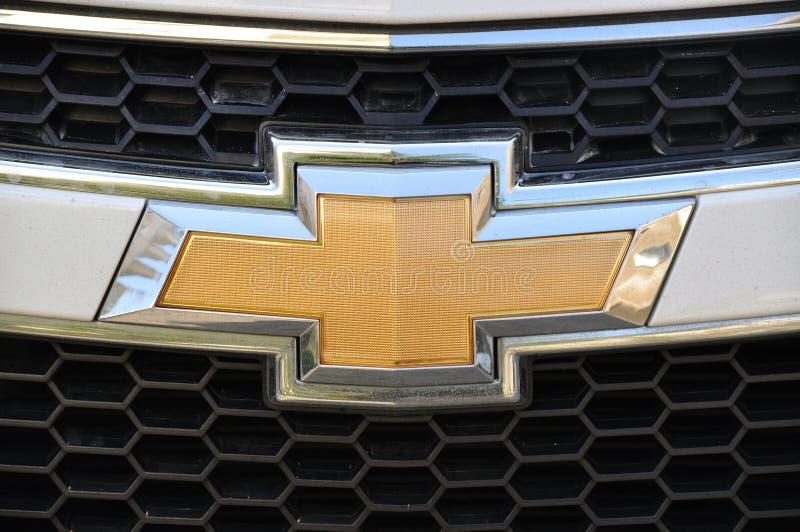 Het symbool van Chevrolet stock afbeelding
