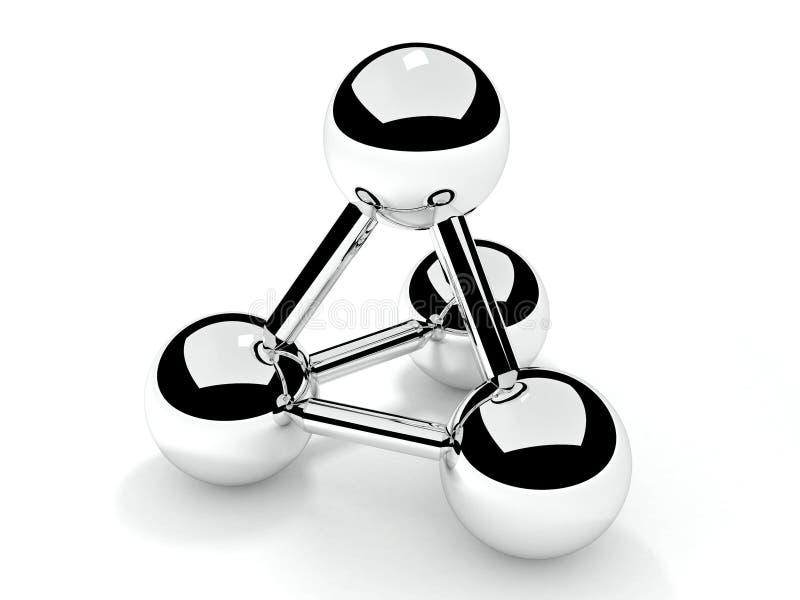 Het symbool van de aansluting stock illustratie