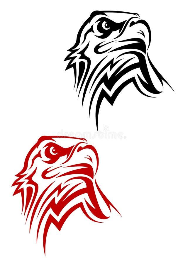 Het symbool van de adelaar stock illustratie