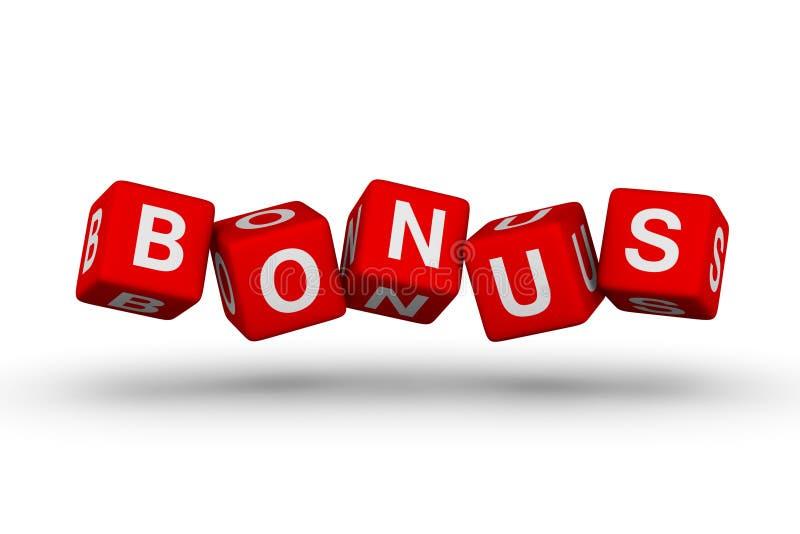 Het symbool van de bonus vector illustratie