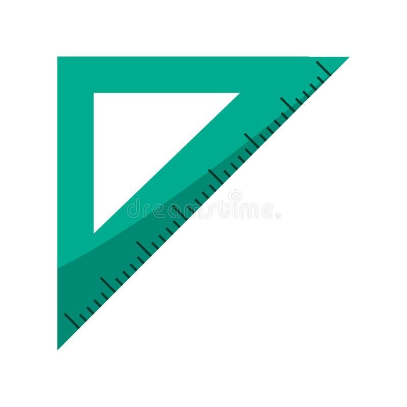 Het symbool van de driehoeksheerser vector illustratie