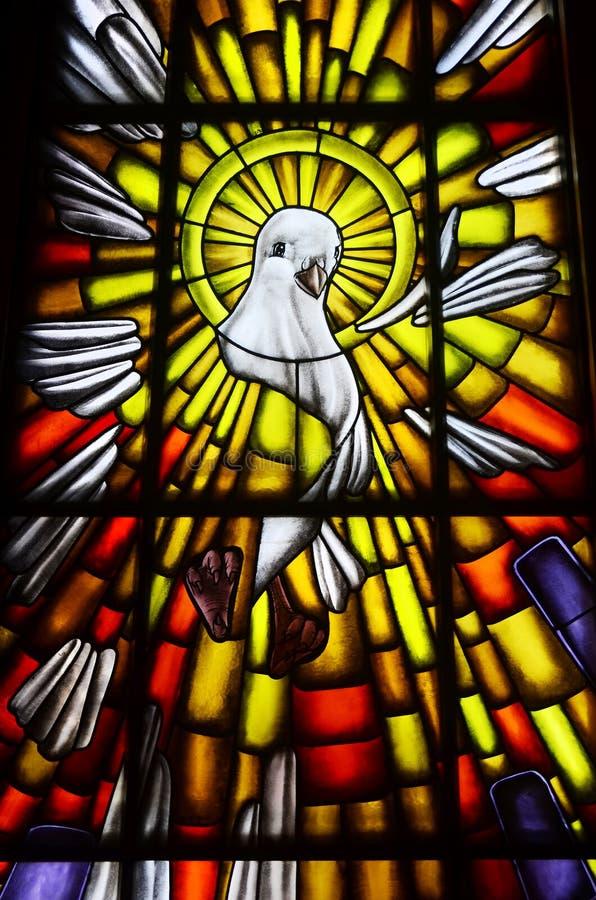 Het Symbool van de Duif van de Heilige Geest royalty-vrije stock afbeelding