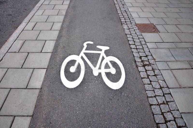 Het symbool van de fiets royalty-vrije stock afbeeldingen