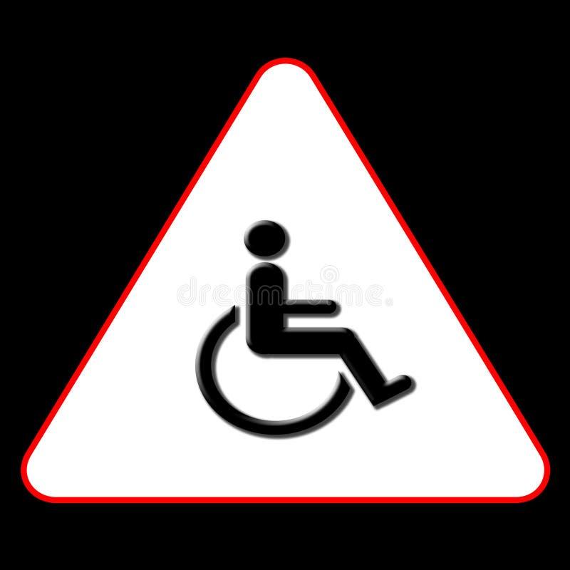 Het Symbool van de handicap royalty-vrije illustratie