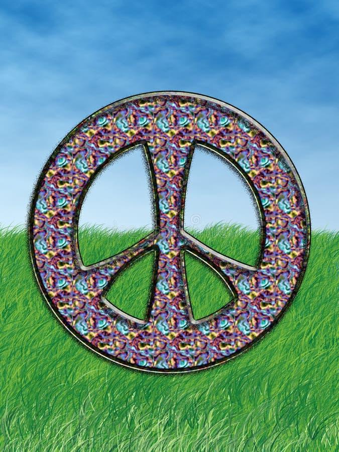 Het Symbool van de hippie royalty-vrije illustratie