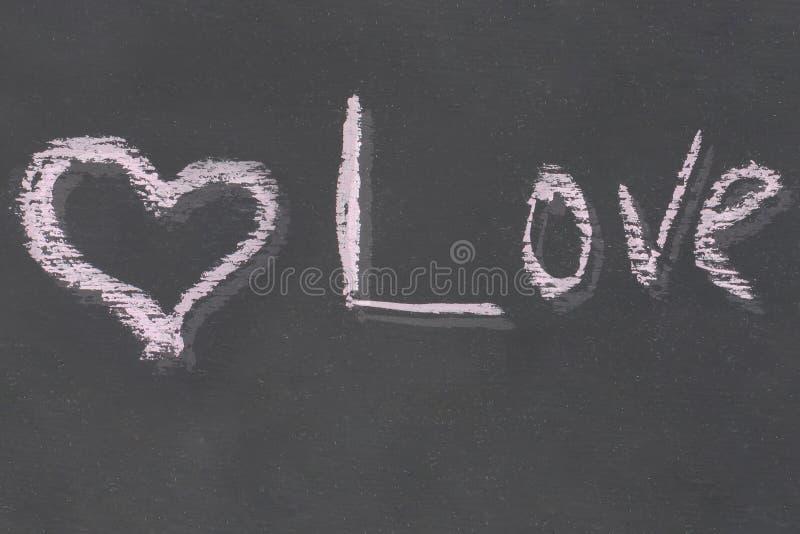 Het symbool van van het de inschrijvingsbericht van het liefdehart achtergrond van de Liefde de tegenover elkaar stellende zwarte royalty-vrije stock foto's