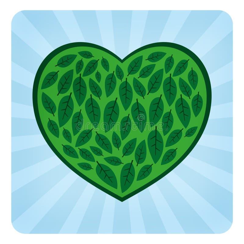 Het Symbool van de Liefde van Eco royalty-vrije illustratie