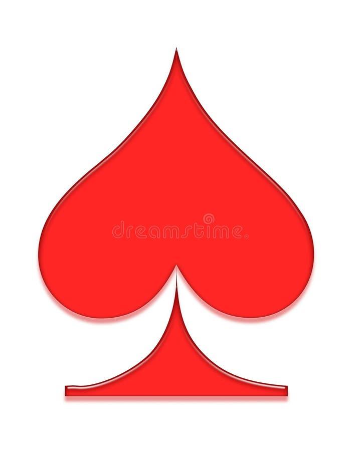 Het symbool van de pook stock illustratie