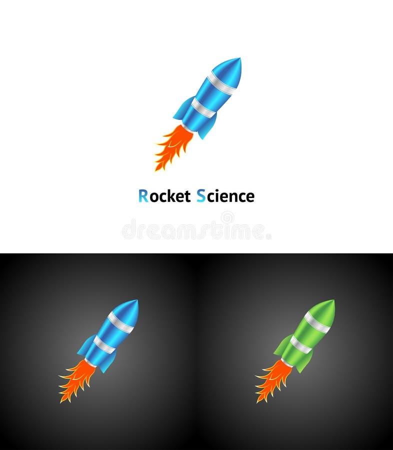 Het Symbool Van De Raket Stock Foto