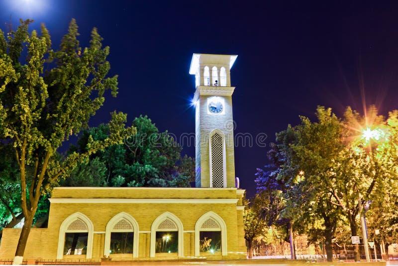 Het symbool van de stad van Tashkent royalty-vrije stock fotografie