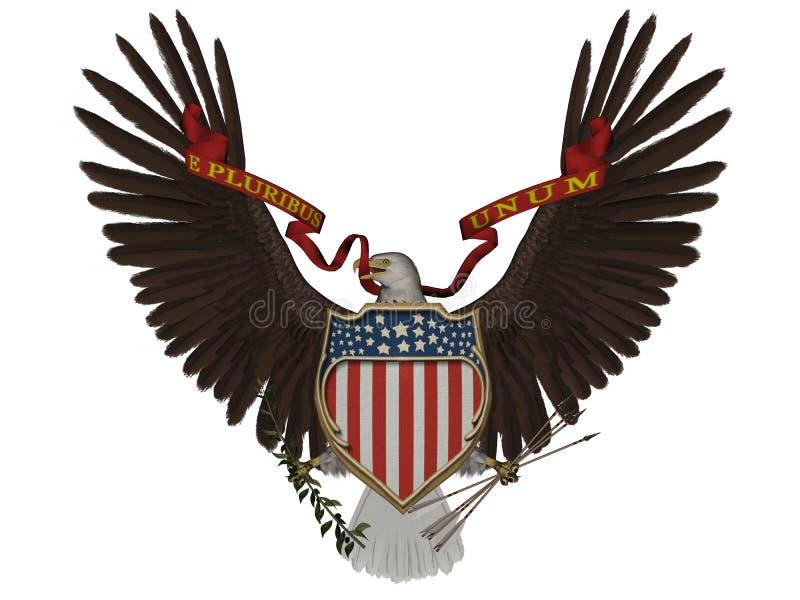 Het symbool van de V.S. royalty-vrije illustratie