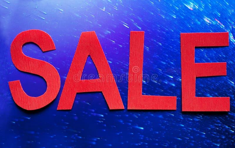 Het symbool van de verkoop royalty-vrije stock fotografie
