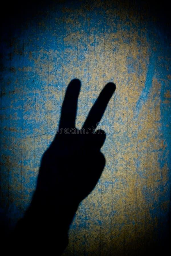 Het Symbool van de vrede stock foto