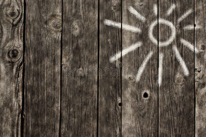 Het symbool van de zon stock fotografie